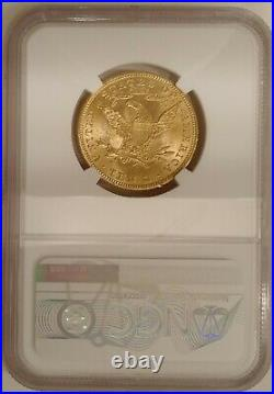 1907 $10 Liberty Gold American Eagle Ngc Ms 63 Pre-1933 Recieve Coin Pictured