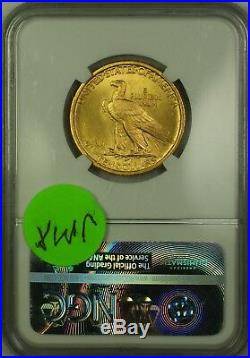 1907 Indian Head $10 Ten Dollar American Gold Eagle AGE Coin NGC MS-64 JMX