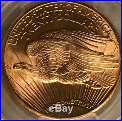 1925 St. Gaudens American $20 Eagle PCGS MS65