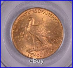 1926 $10 American Gold Eagle Indian Head MS62 PCGS Free shipping