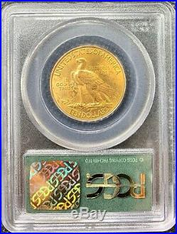 1932 American Gold Eagle $10 Indian MS62 PCGS OG Green Slab Beautiful Pre33 Coin