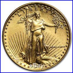 1986 1/10 oz Gold American Eagle BU (MCMLXXXVI) SKU #4695