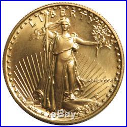 1986 $25 American Gold Eagle 1/2 oz Brilliant Uncirculated