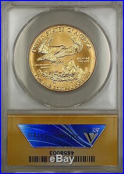 1986 $50 American Gold Eagle Coin AGE 1 Oz ANACS MS-67 GEM SB
