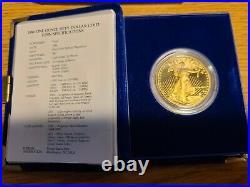 1986-W 1 oz. Proof Gold American Eagle with Box & COA