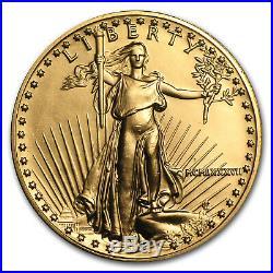 1987 1 oz Gold American Eagle BU (MCMLXXXVII) SKU #7670