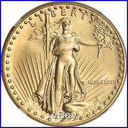 1987 American Gold Eagle 1 oz $50 NGC MS69