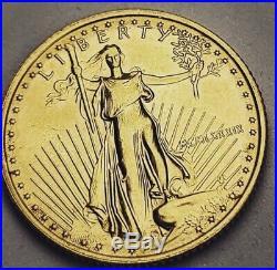 1989 1/4 Oz American Gold Eagle