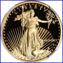 1991-P American Gold Eagle Proof 1/4 oz $10 NGC PF70 UCAM