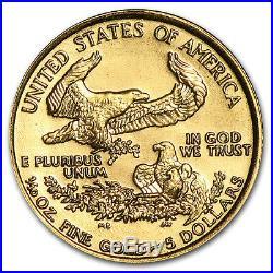 1993 1/10 oz Gold American Eagle BU SKU #4702