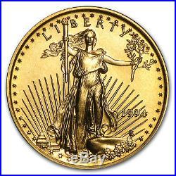 1994 1/10 oz Gold American Eagle BU SKU #8554