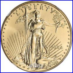 1994 American Gold Eagle 1 oz $50 NGC MS69