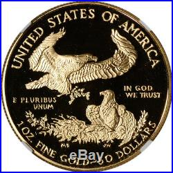1994-W American Gold Eagle Proof 1 oz $50 NGC PF70 UCAM