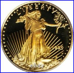 1995 $10 American Gold Eagle Coin 1/4 oz. Uncirculated