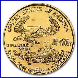 1995 1/10 oz Gold American Eagle BU SKU #4703