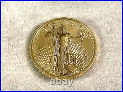 1995 American $5 Gold Eagle 1/10 OZ