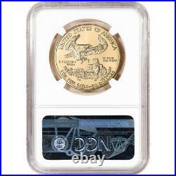 1995 American Gold Eagle 1 oz $50 NGC MS69