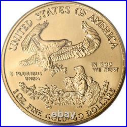 1995 American Gold Eagle 1 oz $50 PCGS MS69