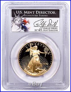 1995-W 1 oz. Gold American Eagle Proof $50 PCGS PR70 DCAM Philip Diehl SKU22440