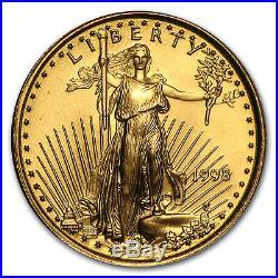 1998 1/10 oz Gold American Eagle BU SKU #7447