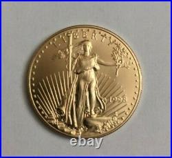 1998 American Eagle 1 Oz. Fine Gold $50 Dollar Coin