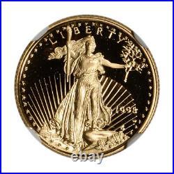1998-W American Gold Eagle Proof 1/10 oz $5 NGC PF70 UCAM