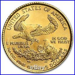1999 1/10 oz Gold American Eagle BU SKU #7448