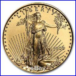 1999 1/4 oz Gold American Eagle BU SKU #7436
