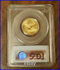1999-W $10 American Gold Eagle, PCGS MS-67, Emergency Issue