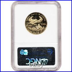 1999-W American Gold Eagle Proof 1/2 oz $25 NGC PF70 UCAM