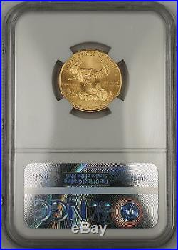 1999-W With W Emergency Issue $10 American Gold Eagle AGE 1/4 Oz Coin NGC MS-69
