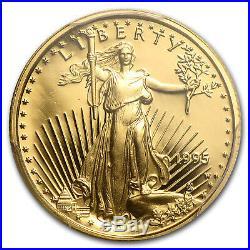 1/10 oz Proof Gold American Eagle PR-69 PCGS (Random Year) SKU #83518