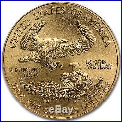 1/2 oz Gold American Eagle MS-69 NGC (Random Year) SKU #83498