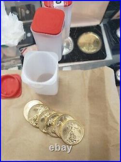 1 oz American Gold Eagle $50 US Gold Coin BU RANDOM YEARS