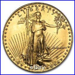 1 oz Gold American Eagle (Abrasions) SKU #11164
