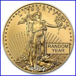 1 oz Gold American Eagle BU (Random Year) SKU #1