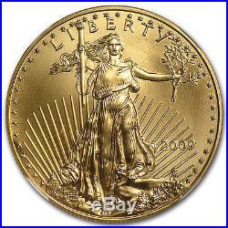 1 oz Gold American Eagle MS-70 NGC (Random Year) SKU #83481