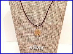 2000 $10 American Eagle 1/4 oz Fine Gold Coin. 999 in Diamond Cut Charm Bezel