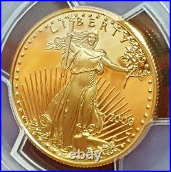 2000 W $25 Gold Eagle PCGS Deep Cameo Proof 70 Saint Gaudens Signature