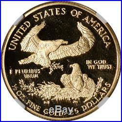 2000-W American Gold Eagle Proof 1/2 oz $25 NGC PF69 UCAM