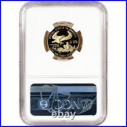 2000-W American Gold Eagle Proof 1/4 oz $10 NGC PF70 UCAM