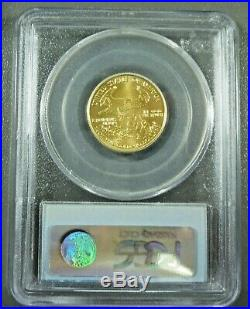 2001 Gold Eagle $10 Quarter Ounce PCGS MS69 9-11-01 WTC Ground Zero Recovery
