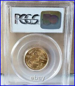 2002 $10 1/4 Oz American Gold Eagle Ms69 Pcgs Clear Untouched Rare Valuable
