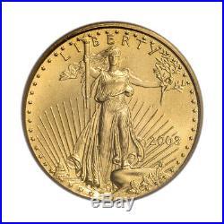 2003 American Gold Eagle (1/10 oz) $5 PCGS MS69