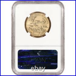 2004 American Gold Eagle 1/2 oz $25 NGC MS70