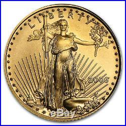 2006 1/10 oz Gold American Eagle BU SKU #11969