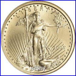 2006 American Gold Eagle (1/4 oz) $10 NGC MS70