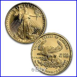 2006-W 4-Coin Proof Gold American Eagle Set (withBox & COA) SKU #13141