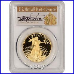 2006 W $50 American Gold Eagle 1 oz PCGS PR70DCAM Cleveland Signed