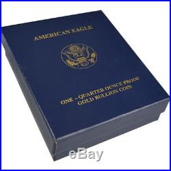 2006-W American Gold Eagle Proof (1/4 oz) $10 in OGP
